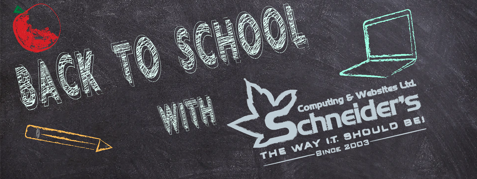 back to school banner ad